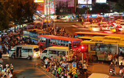 Crowded Public Transport Stock Images