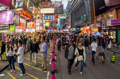 Crowded street Stock Image