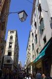 Crowded street,Venice Stock Image