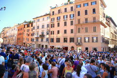 Crowded Streets stock images