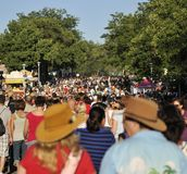 Crowded Streets at Minnesota State Fair Royalty Free Stock Image