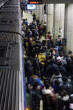 Crowded subway Royalty Free Stock Image