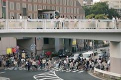 Crowded Tokyo Stock Photo