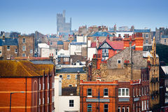 Traditional british neighborhood Royalty Free Stock Images