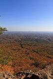 Crowders Mountain State Park. View from Backside Trail at Crowders Mountain State Park in North Carolina during the fall stock photo