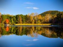 Crowders stanu Halny park - Pólnocna Karolina obraz royalty free