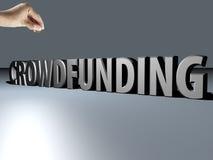 Crowdfunding Stock Fotografie