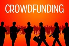 Crowdfunding Imagenes de archivo
