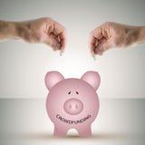 Crowdfunding Fotografia Stock Libera da Diritti