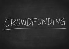 Crowdfunding Royalty-vrije Stock Afbeeldingen