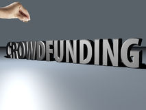 Crowdfunding Stock Photography