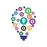 Crowdfunding concept illustration. Crowdfunding concept  illustration Stock Images
