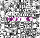 Crowdfunding Royalty Free Stock Photos