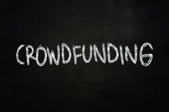 Crowdfunding Concept Royalty Free Stock Photos