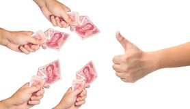 Crowdfunding Royalty Free Stock Images