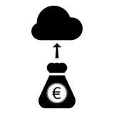 Crowdfunding-Ikone Stockfotos