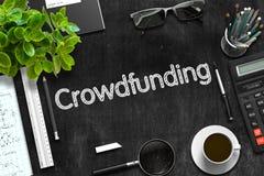 Crowdfunding-Konzept Wiedergabe 3d Stockfoto