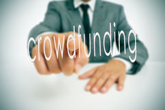Crowdfunding Royalty Free Stock Photo