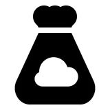 Crowdfunding symbol Royaltyfri Bild