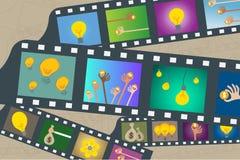 Crowdfunding y concepto del inversor del negocio stock de ilustración