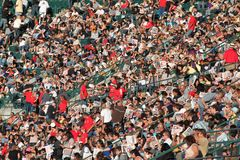 Crowds. At Harvest Crusade, in Anaheim, CA on August 7, 2010 stock image