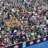 Crowds at 2011 Australian Open Royalty Free Stock Photos