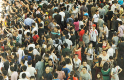 Crowds stock photo