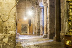 Crowds at the Church of the Holy Sepulchre Royalty Free Stock Photography