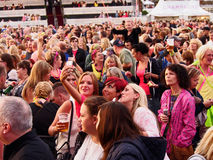 Crowds gather Royalty Free Stock Photography