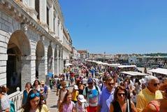 Mass turism Venise Stock Photography