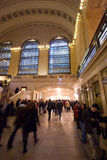 Crowds moving in and out of Grand Central Station Stock Photo