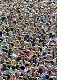 Crowds of people Royalty Free Stock Photography