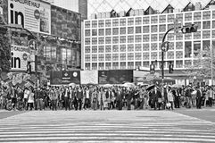 Crowds of people at Shibuya Stock Photography
