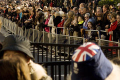 Crowds of Remembrance Day, 2012 Stock Image