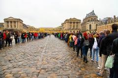 Crowds at Versailles Royalty Free Stock Image