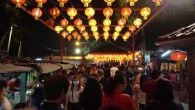 Crowds visit to Chew Jetty during Chinese New Year despite coronavirus scare.