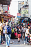 Crowdy Istanbul streets Stock Photos