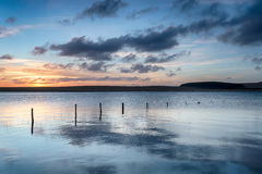 Crowdy Reservoir at Davidstow Stock Image