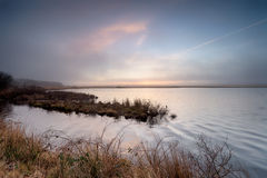 Crowdy reservoir Royalty Free Stock Images
