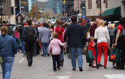 Crowed people Royalty Free Stock Images