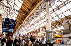 Crowed station Royalty Free Stock Images