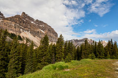 Crowfoot περιοχής λιμνών τόξων βουνά Banff εθνικό πάρκο-Αλμπέρτα-Canad Στοκ Εικόνα