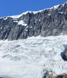 Crowfoot Glacier and Mountain Stock Photography
