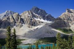 crowfoot lodowiec Zdjęcie Stock