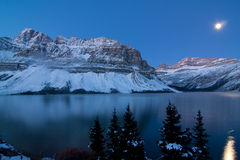 Crowfoot Mountains Stock Image
