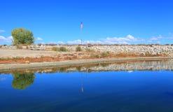 Crowley sjö Fotografering för Bildbyråer