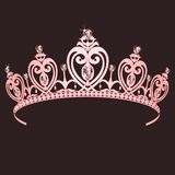 crown公主 向量例证