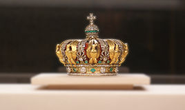 Crown. Close up view of a crown royalty free stock photography