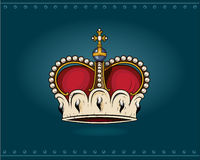 Crown. Royal crown. Additional  format Illustrator 8 eps Royalty Free Stock Image