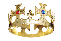 A crown. Isolated on white background Stock Photo